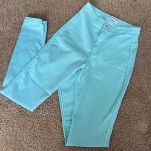Mint Green American Apparel Easy Jean